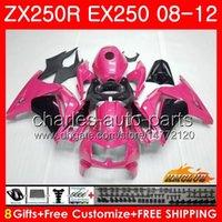 Wholesale kawasaki ninja online - Body For KAWASAKI NINJA EX pink black ZX R ZX250 R EX Kit HC EX250 ZX250R Fairing