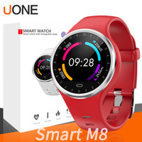 Wholesale korean silicone bracelets resale online - M8 Bracelet smartwatch Fitness Tracker Silicone Strap Support Sport Heart Rate Health Monitor Bluetooth Wristwatch For Huawei Apple