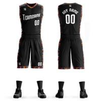 ingrosso sport di squadra uniformi di pallacanestro-Personalizzato Mens College Basketball Jersey Imposta Uniformi fai da te Kit Boys Sports Abbigliamento respirabile Su misura universitari squadra di basket Jersseys