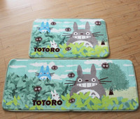 Wholesale totoro mat for sale - Group buy TOTORO Carpet Waterproof Door Mat Cartoon Cute Totoro Kitchen Rugs Bedroom Carpets Decorative Stair Mats Home Decor Crafts
