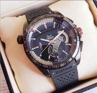 relojes mecánicos para la venta al por mayor-Venta caliente Automático Reloj Mecánico Para Hombre Caja de Acero Inoxidable Japón Movimiento de Goma Correa de Silicona Banda de Lujo de Cuarzo Relojes de Los Hombres