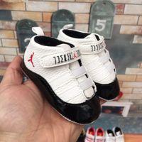 ingrosso scarpe da ginnastica per bambini-Vendita calda Primavera e autunno Scarpe da bambino PU Leather Neonati Primi Walker Shoes Infant Prewalker Sneakers Shoes 001