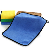 Wholesale glasses cleaner cloth resale online - Super Absorbent Car Wash Cloth Microfiber Towel Cleaning Drying Cloths Rag Detailing Car Towel Car Care Polishing EEA414