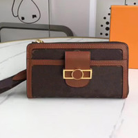 Wholesale cell phones prices resale online - Messenger Bag Wallet Card Bag Coin Purse Fashion Patchwork Color High Quality Old Flower Preferential Price M69162