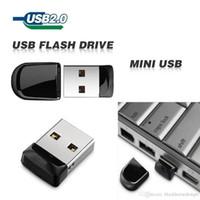 memória flash usb 64 venda por atacado-100% Real capacidade USB Flash Drive Memory Stick 64 GB Super Mini Pen Drive