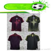 aydınlatma toptan satış-19 20 england Remix Ön Maç Gömlek KANE DELE RASHFORD STERLING VARDY SıCAK PEMBE açık yeşil volt aksan futbol forması