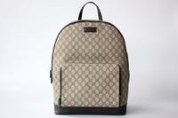 embalaje de seda al por mayor-Forro de seda del bolso de la mochila de la manera del diseñador de Italia Top-Qaulity 406370 tamaño 31.5..41..14.5cm forro de la bolsa con el paquete de la bolsa de polvo