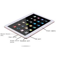 tablet dual camera gps 16gb venda por atacado-Tablet 2 + 16GB 10.1 polegadas tablet portátil, 1280 * 800 IPS tela grande GPS Bluetooth 3G / WiFi cartão dual câmera dupla (branco)