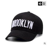 gorras americanas para mujeres al por mayor-Sombreros de hombre y mujer de la frontera estadounidense y europea. Gorros curvos de estilo caliente con letras bordadas gorras de béisbol