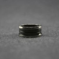 weißgold valentinstag ring großhandel-Womens weiße Keramik Ringe Frau Charms Spirale Ring Valentinstag feine Hochzeit Party Schmuck