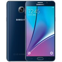 16mp cep telefonu toptan satış-Unlocked Samsung Galaxy Not 5 N920 4G LTE Cep Telefonları 4 GB RAM 32 GB ROM 5.7 inç 16MP Kamera, Samsung Not 5 N920A Smartphone