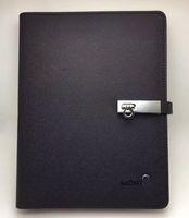 notizblock leder großhandel-Luxus Leder Cover Notizblöcke Agenda Mann handgemachte Notizbuch Classic Notebook Periodical Diary Advanced Design Business Supplies