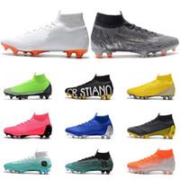 Vente en gros Chaussures De Football En Or Noir 2020 en vrac