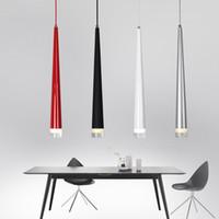 15 cone venda por atacado-Modern Pingente Luzes 3 W CONDUZIU-Em Forma de Suspensão Lâmpadas para Restaurante / Sala de estar / Bar Lamparas Decoração de Casa Iluminação Luminária