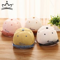 Baby Hat Summer Letter Cotton Baby Boy Baseball Cap Soft Eaves Kids Girls Adjustable Sun Hat