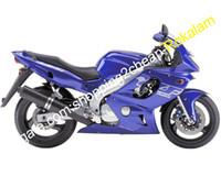 yamaha aftermarket groihandel-Motorrad-Verkleidungen für Yamaha YZF600R Thundercat YZF 600R YZF600R 1997 ~ 2007 Dark Blue Karosserie-Verkleidung Aftermarket-Kit