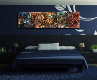 Wholesale framed art deco painting for sale - Group buy Ax3 HDPrint Comics Spiderman Superman Iron Man Rassomaha X Men Captain Amer Home Deco Wall Art painting On Canvas Multi sizes