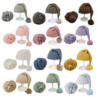 Wholesale baby accessories for boys resale online - 2020 Newborn Photography Props Wraps Hat Set Beanie Propshoot for Photography New Born Baby Boys Girls Accessories