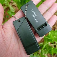 Wholesale plastic party whistles for sale - Group buy Plastic Outdoor Survival Whistle Frequency Loud Sounds Coach Whistle Outdoor Survival Whistle Travel Emergency Whistles ZZA1834