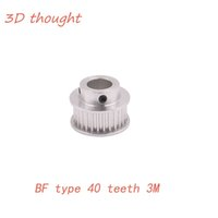 rolamento de tempo venda por atacado-BF tipo 40 dentes 3M cronometrando furo 6.35mm 8mm 10mm 12.7mm para HTD 3M correia dentada usada na polia HTD3M linear 40Teeth 40T