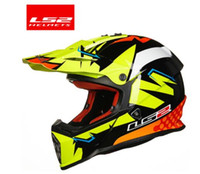 ls2 capacetes motocross venda por atacado-100% LS2 Genuine MX437 capacete off road racing motohelmet casque casco capacetes capacete da motocicleta ATV sujeira capacete da bicicleta motocross