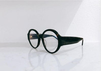 moda óculos quadros claros venda por atacado-5410 óculos de armação claras designer de óculos de lente de prescrição design de estilo copos Moda óculos mulheres Handmade marca quadro com caixa