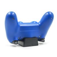 kit de carga de xbox al por mayor-Cargador USB Dock Cradle Station para Sony Playstation 4 Controlador PS4 Carga Controlador inalámbrico Consola Carga