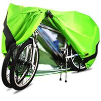 bisiklet su geçirmez toz örtüsü toptan satış-Bisiklet Bisiklet Güneş Koruyucu Kapak Su Geçirmez Yağmurluk Yağmur kapağı Elektrikli Araç Bisiklet Toz Kapağı Scooter Biker