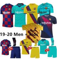 football espagnol achat en gros de-Maillots de foot Juniors Hommes 2019 2020 Camisas Maillots de foot Espagne