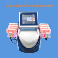 machine de lipo massage achat en gros de-10pads LIPO Laser réduction de la perte de poids perte de poids combustion de salons de massage spa machine à la maison 160MW