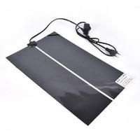Wholesale heat mats resale online - Pet Reptile Heater Heating Pad W cm Dog Cat Advanced Heat Mat Snake Lizard Gecko Heat Supplies OOA6505