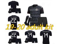 Wholesale mexico soccer jerseys youth for sale - Group buy Adult kits Gold Cup Mexico Soccer Jersey Home black CHICHARITO H LOZANO youth football jerseys set shirts