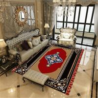 mavi yatak odası halısı toptan satış-Klasik Vintage Farsça Halı Ve Kilim Büyük Fas Tarzı Halı Ev Oturma Odası Yatak Odası Sehpa Alan Kilim Tapete Için