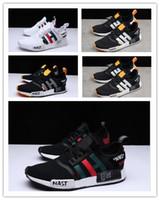en iyi r1 toptan satış-2019 Yeni NMD R1 Nast Primeknit Sneakers En İyi kalite kapalı Yeni Erkekler Ve Kadınlar Koşu Ayakkabıları Üçlü Beyaz Siyah Nmds Rahat açık ayakkabı