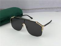 uv eyewear großhandel-New Fashion Designer Sonnenbrillen Brille 0291 rahmenlose Ornamental Brillen UV-Schutz Objektiv Top-Qualität einfache Outdoor-Brille mit Etui