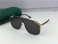 280c57a8a óculos frameless venda por atacado-Novo designer de moda óculos de sol 0291  frameless Ornamental