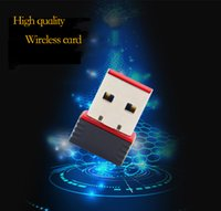 Wholesale new network card for sale - New M USB Wifi Wireless Adapter Mbps IEEE n g b Mini Antena Adaptors Chipset Network Card
