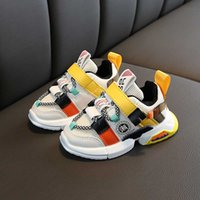 Wholesale sport shoes for girls new fashion for sale - Group buy Autumn new arrivals girls sneakers shoes for baby toddler sneakers shoe size fashion breathable baby sports shoes