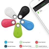 çocuklar için anti kayıp alarmları toptan satış-Akıllı Etiket Bluetooth 4.0 Anti-kayıp alarm Izci anahtar Anahtarlık Bulucu Çocuk Yaşlı Pet Telefonu Araç Kayıp Hatırlatma Bebek Anahtar Izci Bulucu