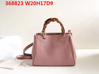 Wholesale freeshipping bags low prices for sale - Group buy Latest women leather shoulder bags cm wide imported soft leather natural bamboo handle with box and dustbag lowest prices promised