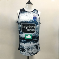 rugby jersey elite venda por atacado-18 19 20 Nova Gales do Sul dos azuis de rugby Jerseys NRL National League colete homens jersey NRL transporte livre