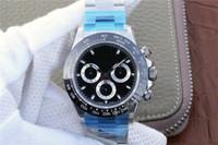 relógios mens venda por atacado-N, aaa luxo mens relógios V8 ultimate versão 1165004130 auto movimento da cadeia, 904L aço relógio de luxo