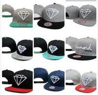 Wholesale mens adjustable baseball caps for sale - Group buy 2019 Designers Mens Baseball Caps New Diamond Letter Hats Embroidered bone Paris Men Women casquette Sun Hat gorras Sports Cap Drop Shipping