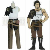 üniformalar toptan satış-Siyah Yonca Yami Sukehiro Cadılar Bayramı üniforma cosplay csotume Custom Made