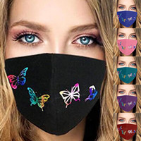 Wholesale personality masks for sale - Group buy Designer Face Mask For Adult Children Personality Butterfly Mask Fashion D Printing Anti dust Breathable Washable Mask Free shiping Via DHL