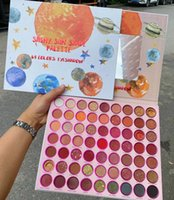Wholesale palette shades resale online - HOT Shiny sun shade palette color eye shadow Glitter Shimmer Matte color eye shadow palette DHL