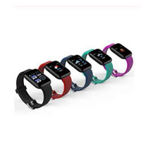 Wholesale waterproof android phone ip67 for sale – best Fitness Tracker ID116 PLUS Smart Bracelet Heart Rate Blood Pressure Monitor Sports Smart Band V4 IP67 Waterproof For Android IOS Phone