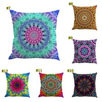 43x43cm Vintage Floral Pillow Case Flower Chenille Cushion Cover Car Home Decor