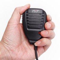 walkie tyt al por mayor-Original TYT Micrófono de altavoz de hombro remoto para TYT TH-F8 TH-UV8000D / E Walkie Talkie Radio bidireccional Baofeng UV-5R BF-888S