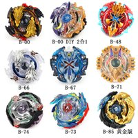 Wholesale beyblade toys launcher for sale - Group buy Burst Spinning Top Fast Speed Whipping Tops DIY Diad Beyblade School Boy Children Toys With Launcher sg O1